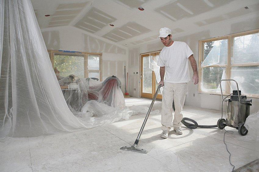 Чистота после строительства